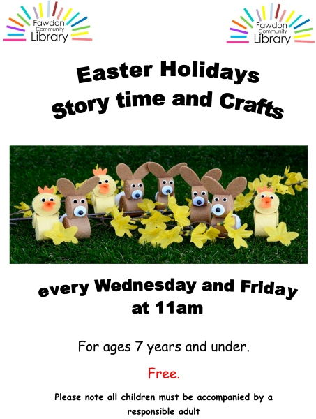 Easter 2018 library